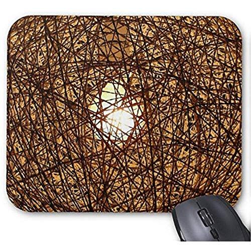 Mousepad Metalen Net Lampenkap Print Muis Mat