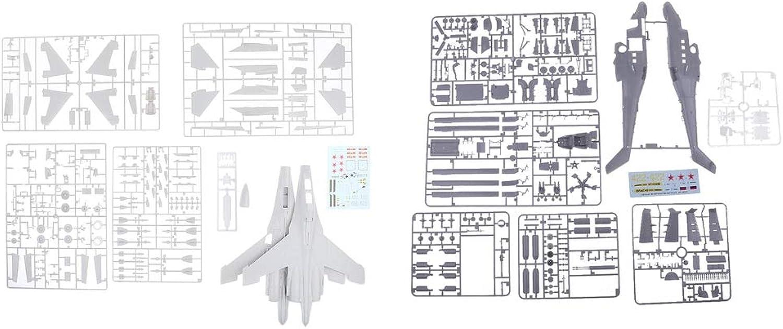 MagiDeal 1 48 Miniature Su30MK Mi24P Warplane Model Kit Figurine for DIY Art Crafts