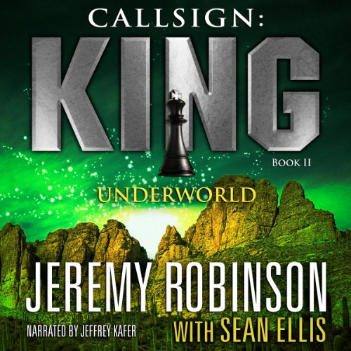Callsign: King: Book 2, Underworld audiobook cover art