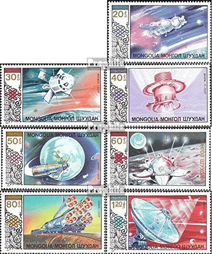 Prophila Collection Mongolei 1730-1736 (kompl.Ausg.) 1985 Raumfahrt (Briefmarken für Sammler) Weltraum