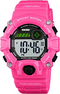 Boys Camouflage LED Sport Watch,Waterproof Digital...