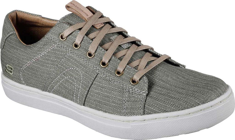 Skechers Men's Alven Manto Sneaker,Olive,US 9.5 M