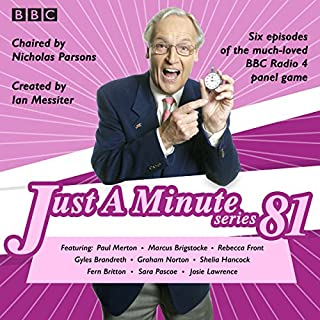 Couverture de Just a Minute: Series 81