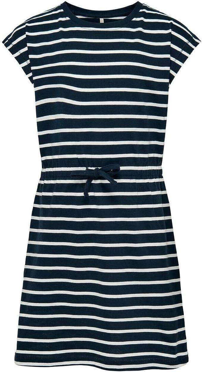Kids Only Mädchen Konmay Life S/S Dress Box Noos JRS Kleid