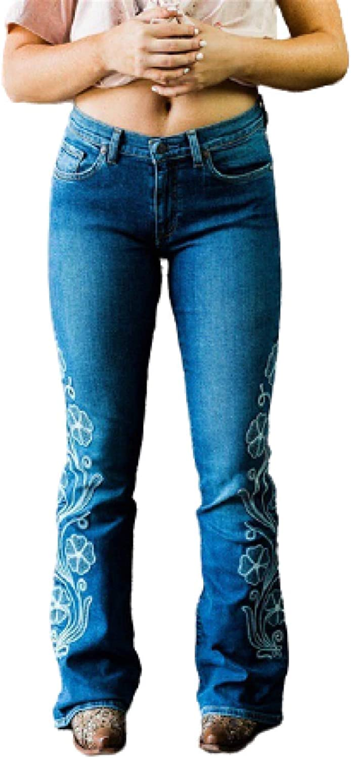 Katenyl European Max 64% OFF Bargain sale and American Jeans High-Wais Fashionable Style