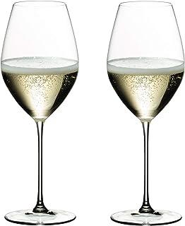 [正規品] RIEDEL リーデル シャンパン グラス ペアセット リーデル・ヴェリタス シャンパーニュ・ワイン・グラス 445ml 6449/28