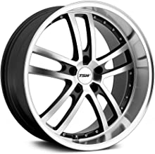 TSW CADWELL Grey Wheel with Painted Finish (18 x 8. inches /5 x 4 inches, 40 mm Offset)