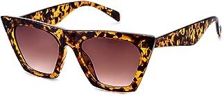 Square Cateye Sunglasses for Women Fashion Trendy Style...