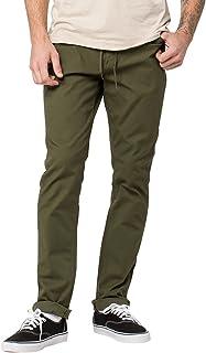 بنطلون جينز Volcom مصنوع من القماش الكتاني الكتاني المدبوغ