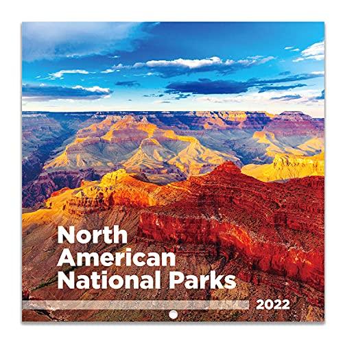 2022 Wall Calendar - Monthly Wall Calendar 2022, Jan 2022 - Dec 2022, 12' x 24' (Open), Wall Calendar with Julian Date, Perfect Calendar for Organizing & Planning - National Parks
