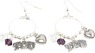 horned frog earrings