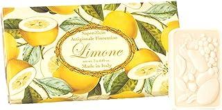 フィレンツェの 長い歴史から生まれたこだわり石鹸 レモン【刻印125g×3個セット】