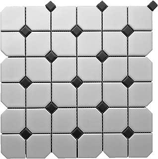 1 Carton/10 SQFT | Black and White 2