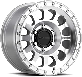 Method Race Wheels MR315 SILVER Wheel with MACHINED/Clear Coat (0 x 8.5 inches /6 x 120 mm, 0 mm Offset)