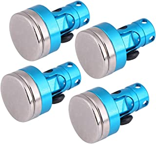 Dilwe 4Pcs RC Magnetic Stealth, Metal Magnetic Stealth Cuerpo de Shell Post para CC01/AXIAL/SCX10 HSP 02010 1:10 Coche