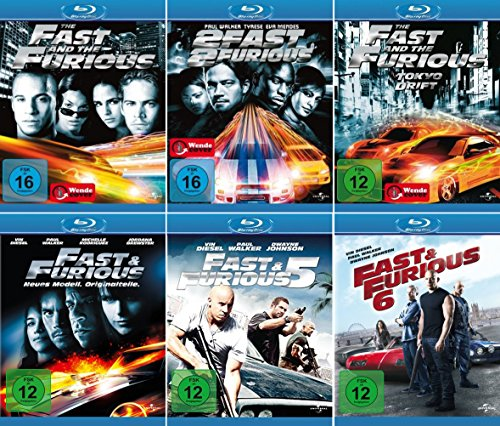 Fast and the Furious (6 Blu-ray Collection)