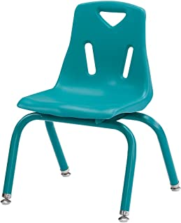 Offex Stack Children's Chair, Teal (OF-8118JC1005)