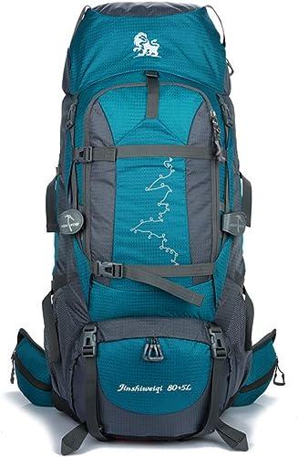 QWKZH Sports et Loisirs Sac d'alpinisme extérieur Sac à Dos de randonnée Camping 85L