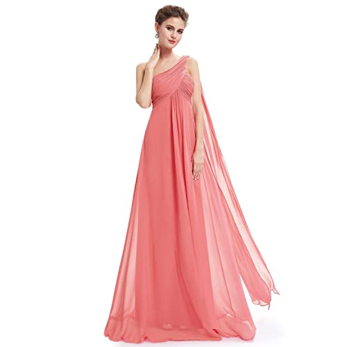3a6577f42166 Ever-Pretty Women's Formal One-Shoulder Maxi Evening Gown Dress 09816