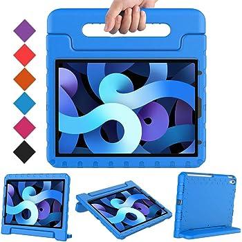 BMOUO Kids Case for iPad Air 4/iPad Air 10.9, iPad Air 4 Case,iPad 10.9 Case, Shockproof Light Weight Convertible Handle Stand Kids Case for iPad Air 4th Generation 10.9 inch 2020-Blue