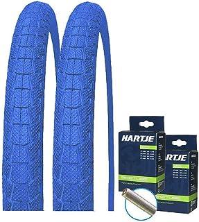 comprar comparacion Kenda K907 - Juego de 2 neumáticos para bicicleta BMX (20 x 1,95 + 2 mangueras para válvula), color azul