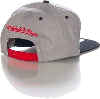 buy online b76ef 5434a Mitchell   Ness Adjustable Basketball Snapback Cap - NBA Flat Bill Baseball  Hat