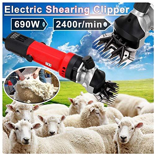 6 Speed Sheep Shears Corte De Lana Recortadora en Granja Eléctrica para...