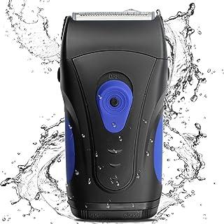 BEWEBEME Electric Razor for Men - Wet/Dry Waterproof Electric Foil Shaver with Pop-up Beard Trimmer, Safe Travel Lock Batt...