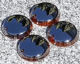 i5 Full Chrome Turn Signal Lenses for Kawasaki Vulcan 500 750 800 1500 Classic Nomad Drifter