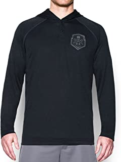 Under Armour Mens Lax Henley Hoodie