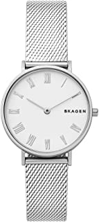 Skagen Women's Quartz Watch analog Display and Stainless Steel Strap, SKW2712