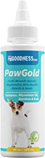 All Natural Dog Paw Balm, Paw and Nose Balm for Dogs That Heals 3X Faster Than Creams, Paw Soother Serum for Rapid Healing of Dry Cracked Noses and Paws, Perfect for Heat and Snow + Ice Protection