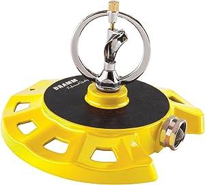 Dramm 15073 ColorStorm Spinning Sprinkler, Yellow