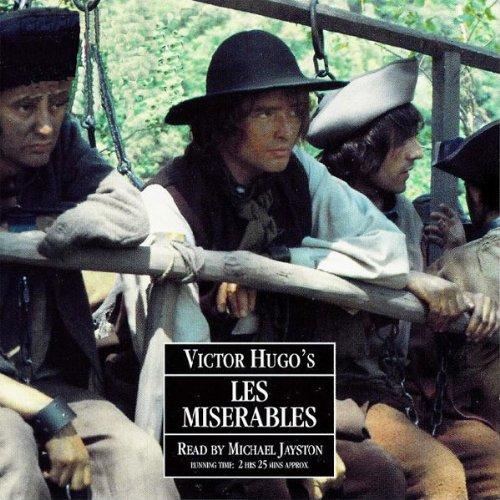 Les Miserables audiobook cover art