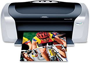 Epson Stylus C88+ Inkjet Printer Color 5760 x 1440 dpi Print Plain Paper Print Desktop Model C11C617121