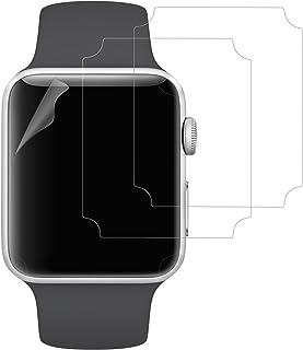 JETech Ochraniacz ekranu do Apple Watch 42 mm Series 3 2 1, folia TPE Ultra HD, 3-pak