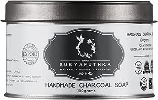 Suryaputhra Handmade Charcoal Soap, 100 Grams
