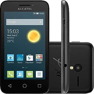 Smartphone Alcatel Pixi 3 4GB, Dual Chip, 3G, Android, Câm 5MP, Tela 3.5 , Wi-Fi Preto
