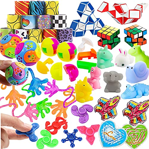 45 Pc Party Favors For Kids, Carnival Prizes Treasure Box Toys, School Classroom Rewards, Pinata Filler Goodie Bag Stuffers