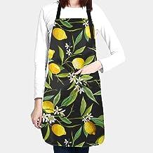 Bib Apron Lemons  #2031
