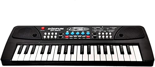 Crizer Big Fun Electronic Musical Instruments 37 Key Electric Piano Keyboard Musical Toy