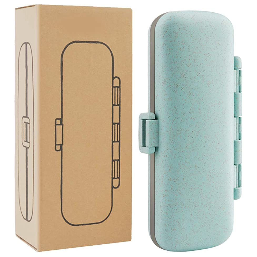 Pill Organizer - 7 Compartments Travel Pill Case for Pocket or Purse Daily Pill Box for Vitamin Fish Oil Supplements