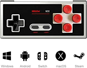 LANRUO 8Bitdo N30 Wireless Gamepad Controller Supports Android/PC/Mac OS/Switch