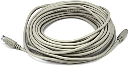 Monoprice 50-Feet PS/2 MDIN-6 Male to Female Cable (102540)