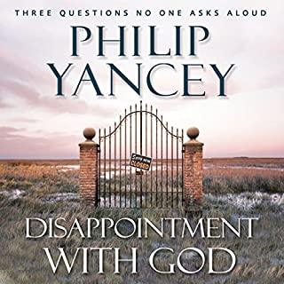 Disappointment with God audiobook cover art