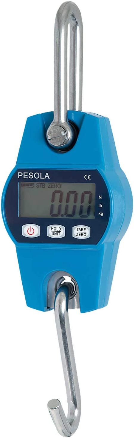 New Free Shipping Pesola Baltimore Mall Heavy-Duty Hanging Scale Capacity Model PHS100-HD 100kg