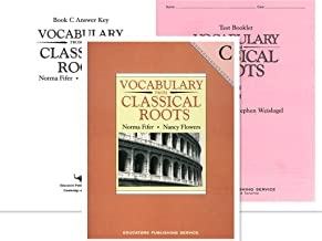 Vocabulary from Classical Roots C SET (Grade 9) -- Student Book, Test Booklet and Answer Key