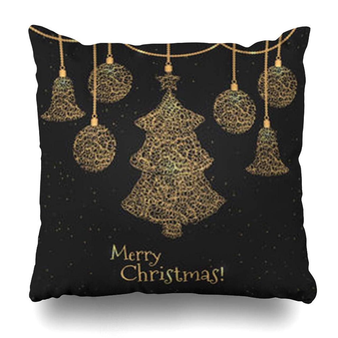 歯北方もっと少なく枕を投げる赤抽象的なボケでホリデークリスマスツリーをカバー明るい泡お祝いのデザインホームデコレーションクッションケーススクエア18 * 18インチ装飾ソファ枕カバー