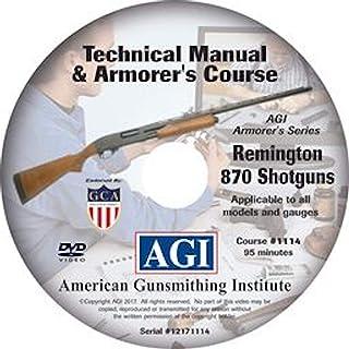 م Gunسسه اسلحه سازی آمریکا Remington 870 Shotgun Armorer's Course Video on DVD - دستورالعمل های حرفه ای اسلحه سازی برای جداسازی قطعات ، تمیز کردن ، مونتاژ مجدد و موارد دیگر