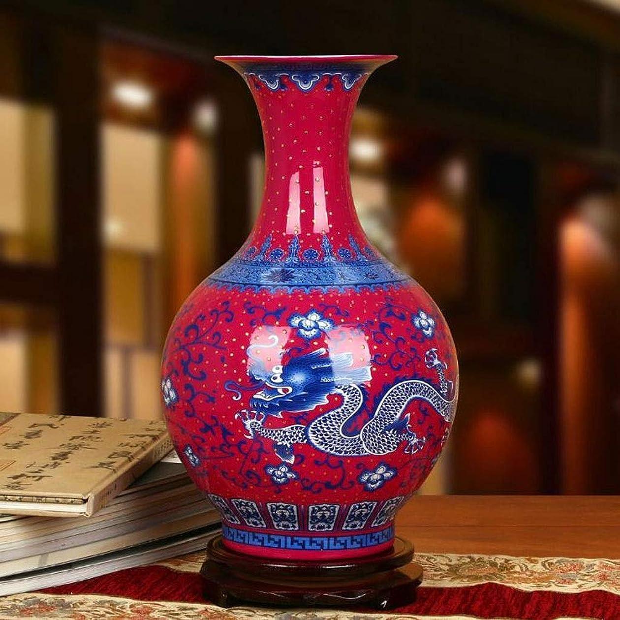 傑作地平線食欲花瓶 異なる特性偏在セラミック大花瓶個々の色ルームアクセサリーエナメル磁器 インテリア フラワーベース